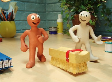Morph is one of the characters brought back for the launch of Sky Kids.