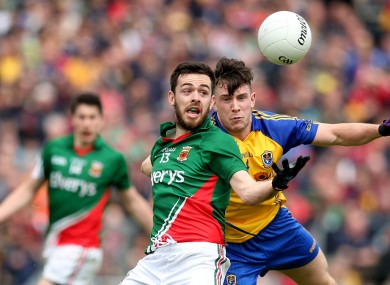 Mayo and Roscommon meet in a key league clash next Sunday.