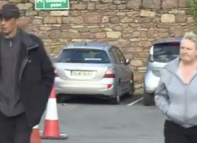 Jonathan Costen and Eleanor Joel at Wexford District Court in 2012.