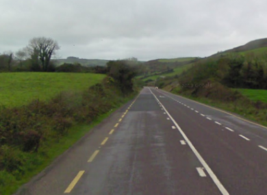 The N71 Clonakilty to Skibbereen Road near Barley Hill.