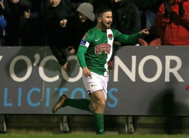 Cork City's Sean Maguire.