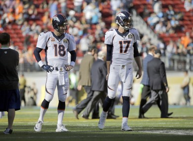Neither 17 or 18 will be lining up in Mile High next year.