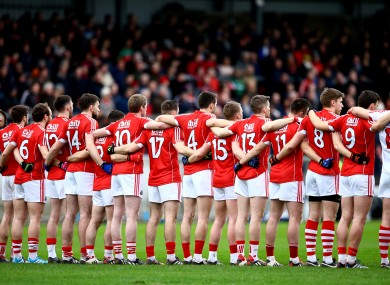 Cork must try to pick themselves up against Dublin on Saturday night.