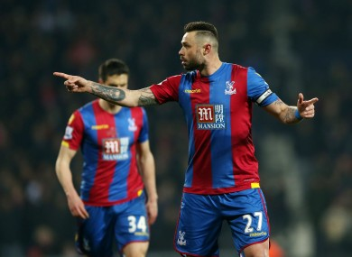 Damien Delaney has made 23 Premier League appearances for Crystal Palace in the Premier League this season.