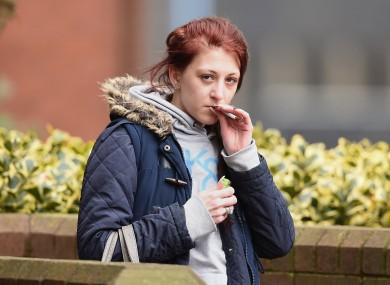 Kathryn Smith outside Birmingham Crown Court.