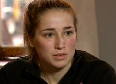 Belgian cyclist Femke Van den Driessche.