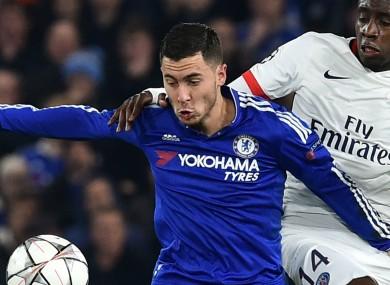 Eden Hazard has failed to score in 26 Premier League appearances this season.