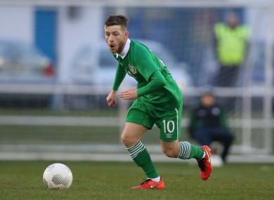 Jack Byrne is one of Irish football's brightest prospects.