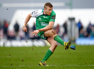 Carty: fit to face Munster on Saturday.