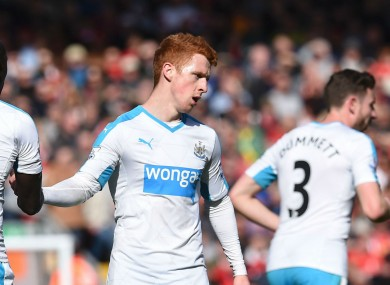 Colback scored his first goal of the season.