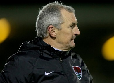 Cork City manager John Caulfield (file pic).