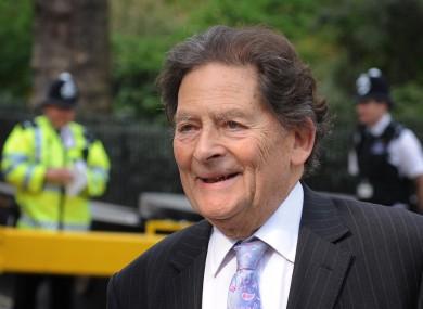 Former Tory chancellor Nigel Lawson