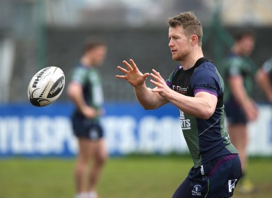 Connacht's Matt Healy.