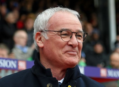 Leicester City manager Claudio Ranieri has finally admitted that his side are title contenders.