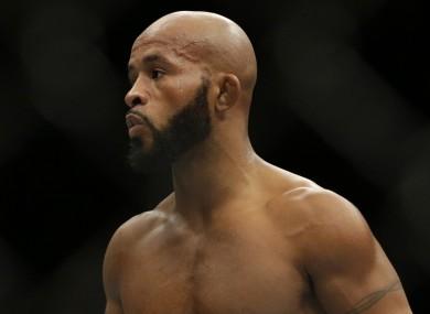 UFC flyweight champion Demetrious Johnson.