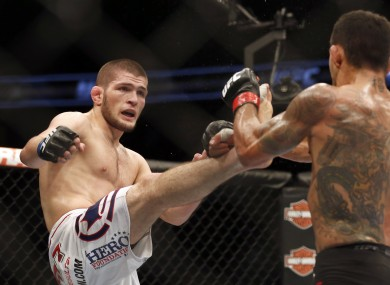Nurmagomedov has won all 22 of his professional fights.