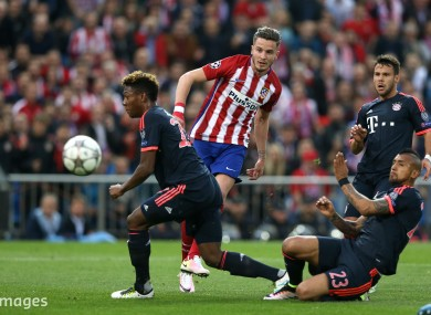 Saul Níguez helped send Atletico Madrid to the Champions League final.