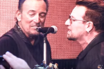 Bono did a surprise duet with Bruce Springsteen at his gig in Croke Park last night