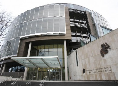 A general view of the Criminal Courts of Criminal Justice in Dublin.