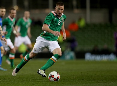 James McCarthy has 33 Ireland caps.