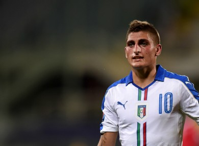 Italy international Marco Verratti