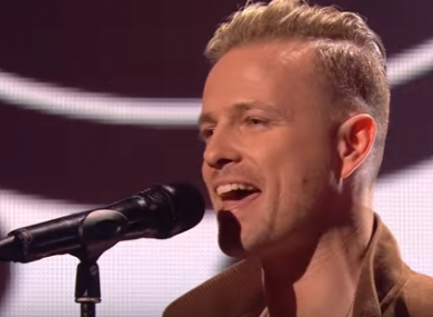 Eurovision hopeful Nicky Byrne