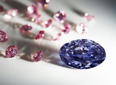 The diamond was found in a mine in Australia.