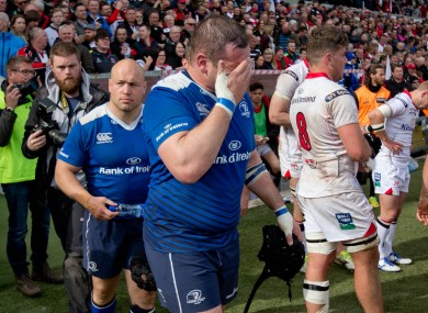 Leinster were ruthlessly exposed by Ulster.