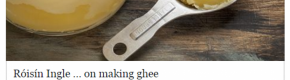 The comments on an Irish Times article about ghee were... predictable