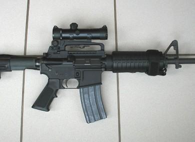 File photo of an AR15
