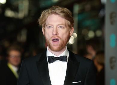Irish actor Domhnall Gleeson