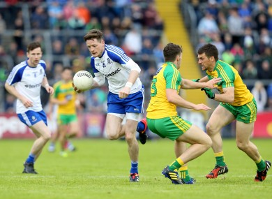 Conor McManus hit 0-8 for Monaghan tonight.