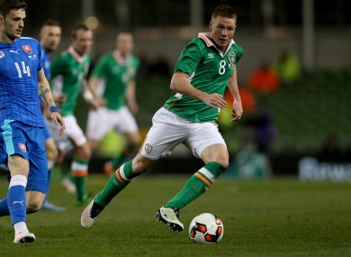 James McCarthy is Ireland's most valuable player at €14.5million.