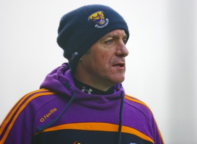A good night's work for Wexford boss Liam Dunne