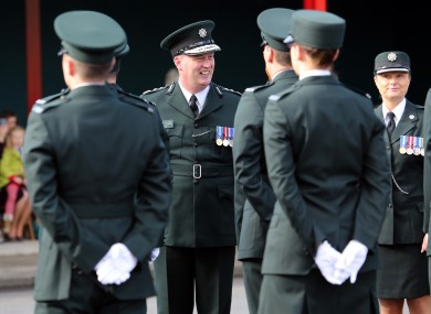 File photo of PSNI officers graduating in 2014