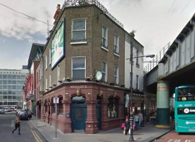Molloys on Talbot Street, Dublin.