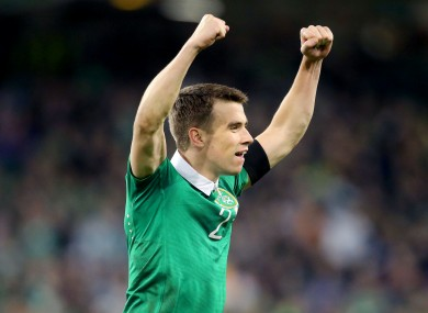 Seamus Coleman has bounced back from the disappointment at not making the Euro 2012 squad.