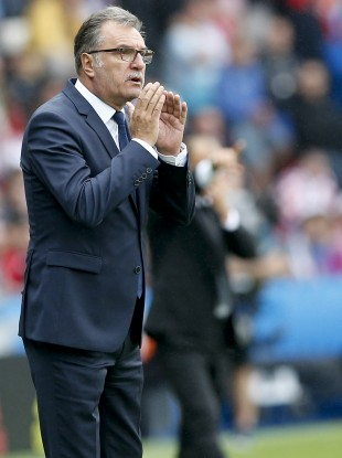 Cacic: sights set on a place in the last 16.
