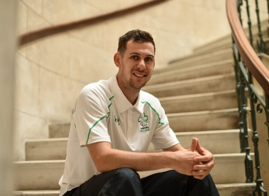 McKillop was yesterday named as part of Ireland's Paralympic team.