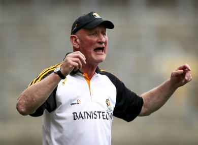 Cody: 11 All-Ireland titles and counting.