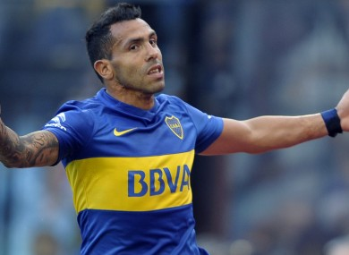 Carlos Tevez was given the chance to return to West Ham.