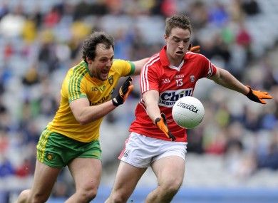 Cork's Colm O'Neill and Donegal's Michael Murphy will face off.