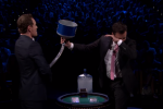 Michael Fassbender got icy water poured down his jocks on telly last night... It's The Dredge