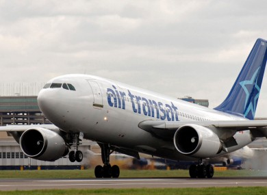 The pilots were due to fly an Air Transat plane carrying 250 passengers.