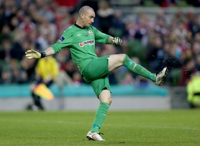 Derry goalkeeper Ger Doherty (file pic).