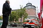 Man kills himself and injures 12 after setting off bomb outside bar in Germany