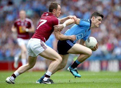 Dublin's Diarmuid Connolly and Westmeath's James Dolan will be in opposition on Sunday