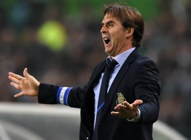 Lopetegui managed Porto up until last January.
