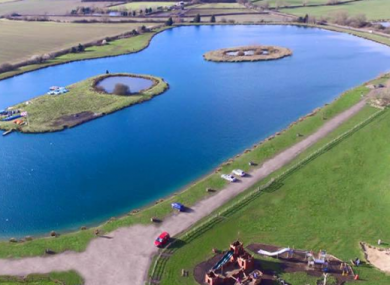 Bosworth Water Park is located near Leicester.