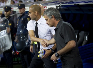 Guardiola and Mourinho know each other better than most.